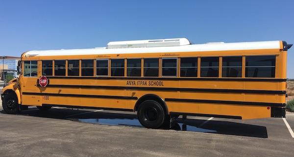 anya itpak school bus schedule